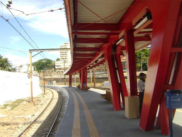 Nova estação da SuperVia no Méier (Foto: Divulgação/SuperVia)