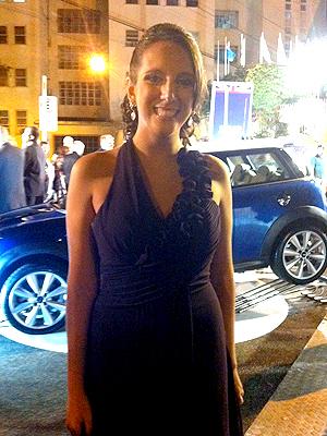 Ana Paula Chain ganhou concurso para conhecer o príncipe Harry (Foto: Carolina Lauriano / G1)