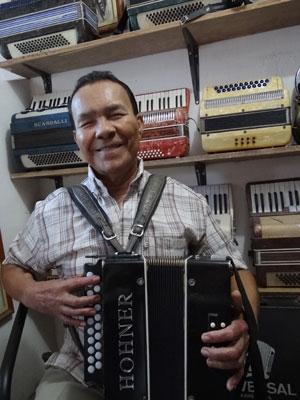 Arlindo dos 8 Baixos fez fama no Recife (Foto: Luna Markman/G1)