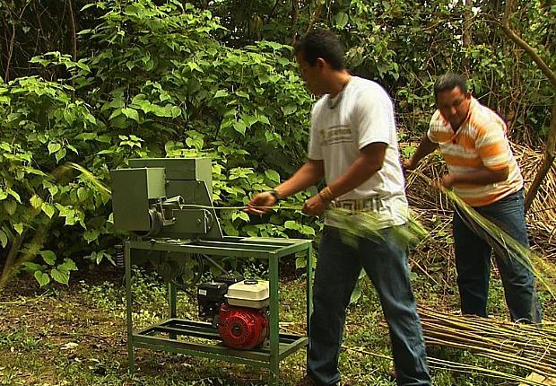 Máquina foi apresentada nesta quinta-feira, em Manaus (Foto: Reprodução TV Amazonas)