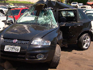 Jovem morre e outro fica ferido em acidente grave no bairro de Ondina (Imagem/TV Bahia)