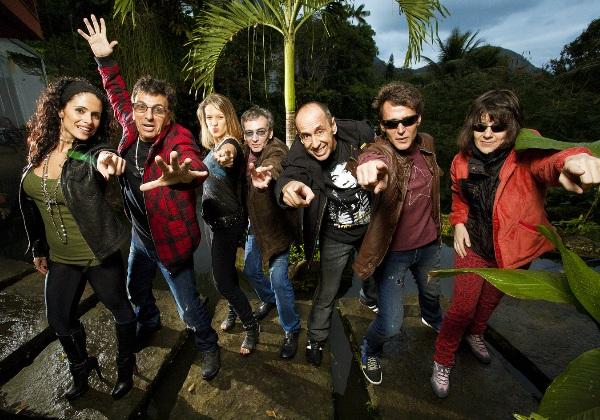 Banda Blitz se apresenta no clube Jaó, em Goiânia (Foto: Divulgação)
