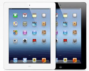 Novo iPad tem tela de alta definição e câmera de 5 MP (Foto: Divulgação)