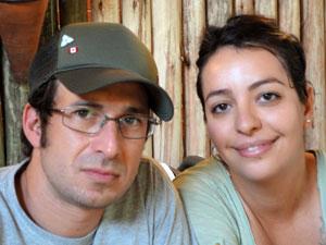 Itacaré: Leonardo e Fabiana (Foto: Arquivo Pessoal/ Fabiana Gracioli)