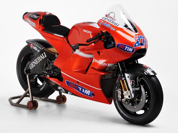 Ducati GP10 de Casey Stoner (Foto: Divulgação)