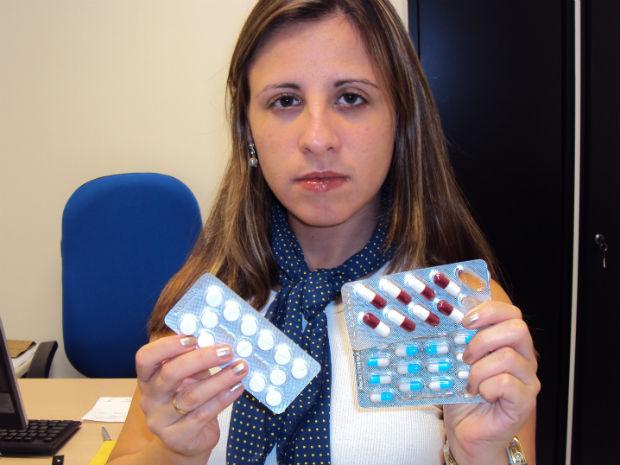 Bruna ficou 18 dias em coma após utilizar remédio para febre (Foto: Bruna Pierre / Divulgação)