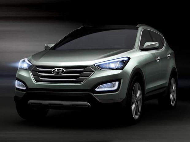 Novo; Hyundai; Santa Fe; 2013 (Foto: Divulgação)
