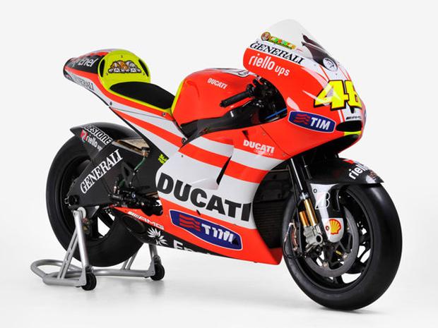 Ducati GP12 de Valentino Rossi (Foto: Divulgação)
