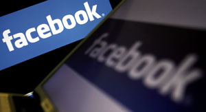 Logo do Facebook (Foto: AFP)