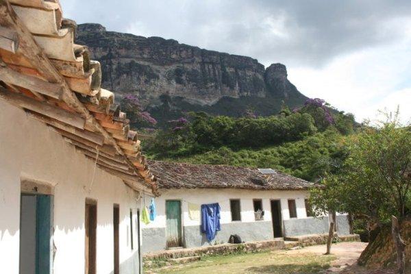 Casa de seu Wilson, no Vale do Pati (Foto: Benjamin Salustiano (Beja Guia)/ChapadaTrip)