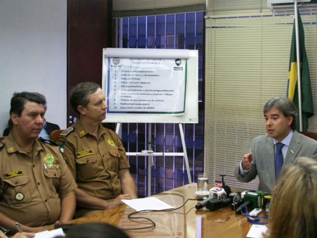Secretário de Segurança do Paraná (Foto: Divulgação/Sesp)