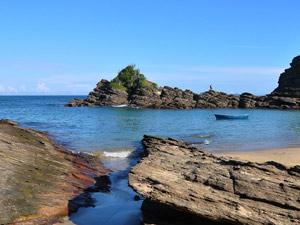 Praia da Ferradurinha, em Búzios (Foto: Sérgio Quissak)