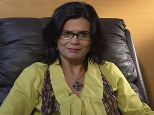 Psicóloga Ana Paula Hawatt ensina concurseiros a lidar com ansiedade e pressão das provas (Foto: Rede Globo)
