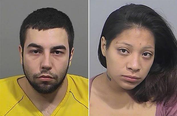 Arien L'Italien e Karla Wilson são acusados de fazer sexo dentro de cadeia. (Foto: Divulgação)
