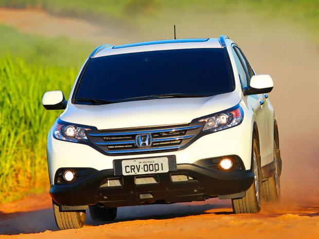 Honda CR V Entra Na Quarta Geração (Foto: Divulgação)