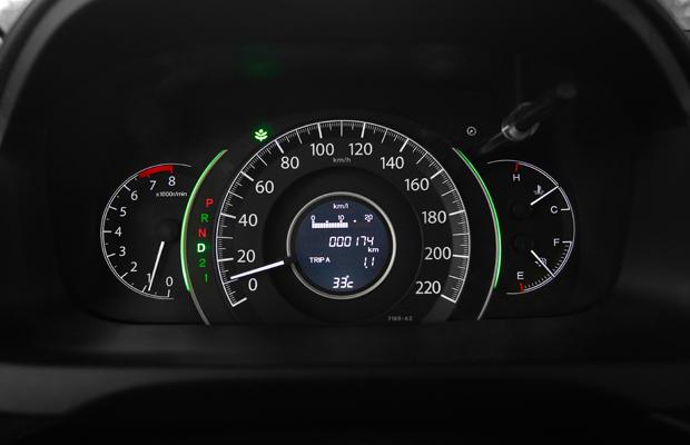 Pegou leve no acelerador? A luz verde acende.  (Foto: Divulgação)