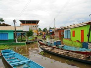 Enchente que atingiu Lábrea, município do interior do Amazonas 3 (Foto: Edmar Barros)