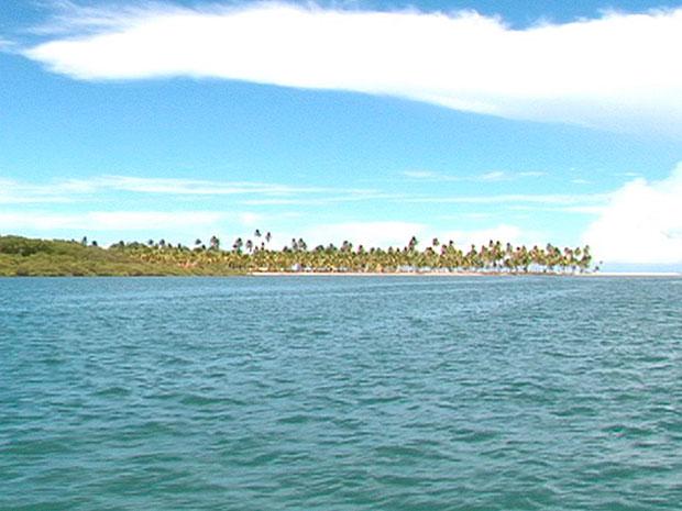 Ilha de Boipeba Bahia (Foto: Imagem TV Bahia)