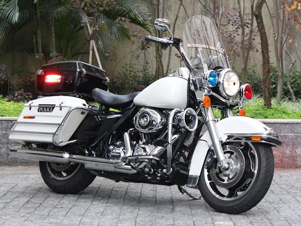 Harley-Davidson Road King Police 2012 (Foto: Rafael Miotto/ G1)