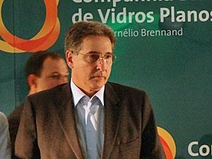 Ministro Fernando Pimentel em visita ao estado de Pernambuco (Foto: Katherine Coutinho/G1)