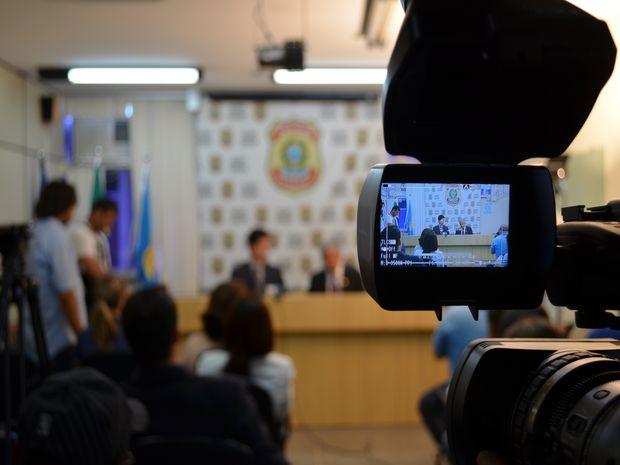 Delegados revelam detalhes da Operação Parvus (Foto: Flávio Antunes/G1 SE)