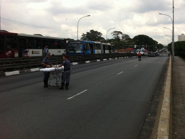 acidente vereador josé diniz (Foto: Juliana Cardilli/G1)