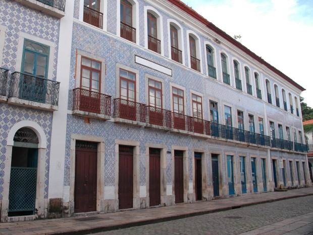 Casarões da Rua Portugal (Foto: Arquivo O Estado)