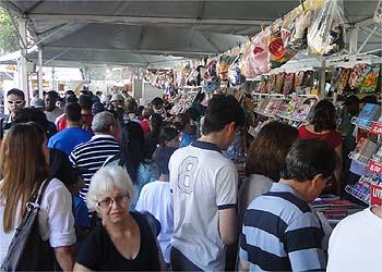 Feira do Livro de Ribeirão Preto (Foto: EPTV)