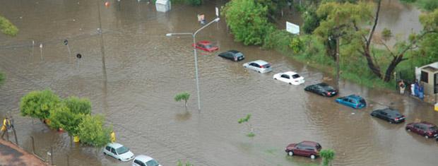 Chuva alagou Porto Alegre em março (Foto: Marjuliê Martini/MPRS, Divulgação)