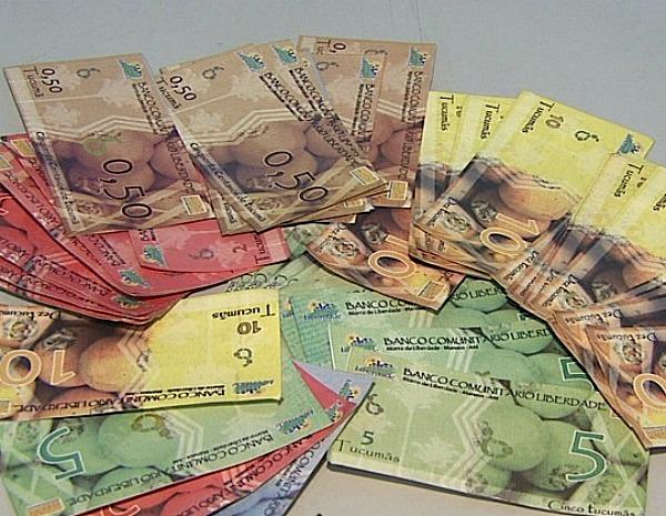 Moeda utilizada é uma iniciativa do Ministério do Trabalho.  (Foto: Reprodução/TV Amazonas)