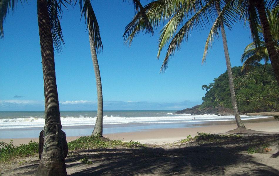 Prainha é considerada uma das paisagens mais bonitas de Itacaré, na Bahia