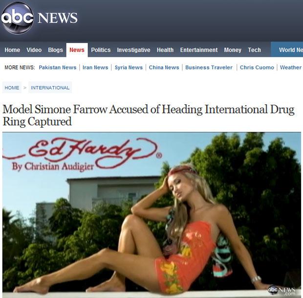 A modelo, que foi contratada de uma famosa marca de biquínis nos EUA (Foto: Reprodução)