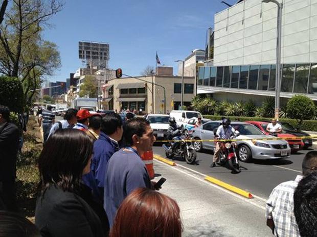 Não havia relato de vítimas; presidente do país Felipe Calderón disse que não houve relatos de grandes danos. (Foto: Laura Motta/VC no G1)