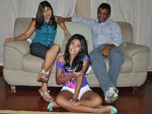 Família (Foto: Ricardo Campos Jr./G1 MS)