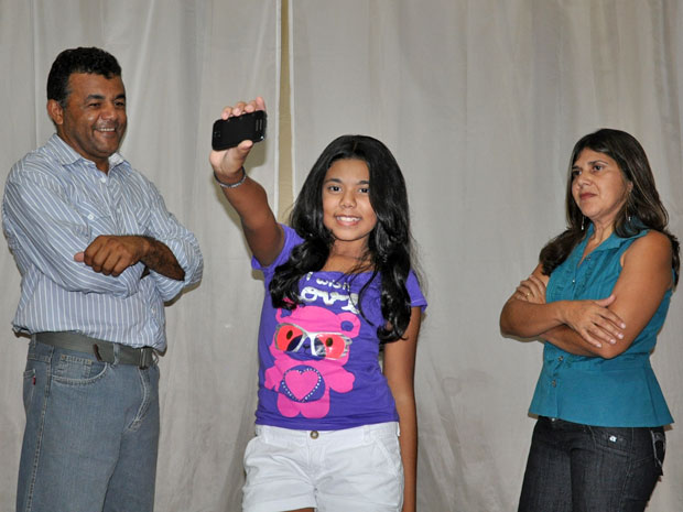 Familia (Foto: Ricardo Campos Jr./ G1 MS)