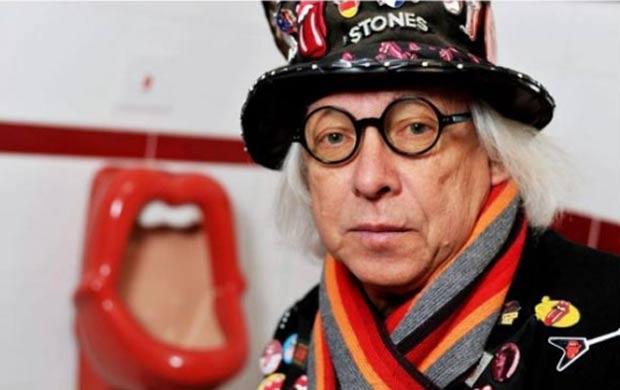 Urinóis inspirados no famoso logotipo dos Rolling Stones causaram polêmica em um museu dedicado à banda em Luechow, na Alemanha. Feministas locais se queixaram que os urinóis são ofensivos e transmitem uma mensagem 'misógina' (desprezo ao sexo feminino)., (Foto: Reprodução)