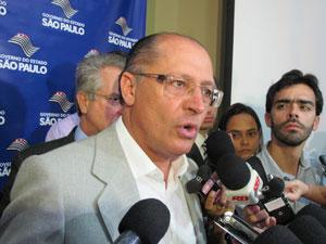 Alckmin quer conversar com governadores de outros estados (Foto: Letícia Macedo / G1)