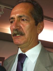 O ministro do Esporte, Aldo Rebelo, que foi à Câmara para homenagem ao PC do B (Foto: Felipe Néri/G1)