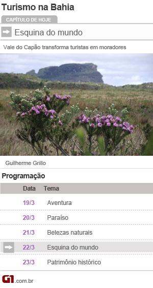 calendário série de turismo bahia (Foto: Editoria de Arte/G1)