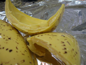 Ovo de Banana (Foto: Samuel Nunes/G1 PR)