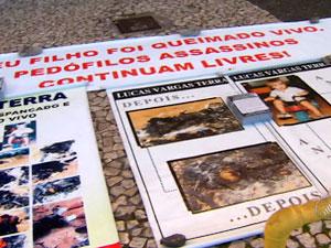'Sou formiga diante de elefante', diz pai de jovem morto há 11 anos na BA (Foto: Reprodução/ TVBA)