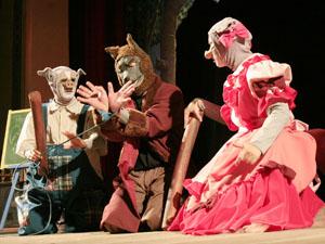 """""""Os Três Porquinhos"""" estará em cartaz no Teatro Arraial até maio  (Foto: Pedro Portugal/Divulgação)"""