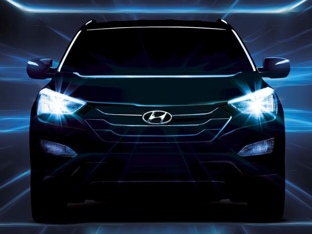 Hyundai vai lançar o novo Santa Fe em Nova York (Foto: Divulgação)
