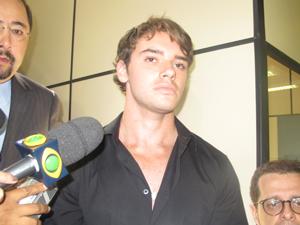 Thor Batista prestou depoimento na tarde desta quarta (Foto: Rodrigo Vianna/G1)