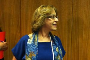 Embaixadora e subsecretária-geral de política do Ministério das Relações Exteriores, Maria Edileuza Fontenele Reis (Foto: Natalia Godoy / G1)