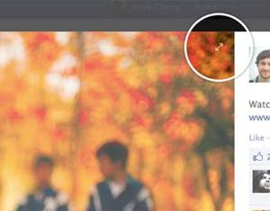 Fotos do Facebook agora trazem função para serem vistas em tela inteira (Foto: Reprodução)