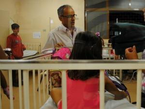 Dez crianças de creche de MS permanecem internadas no hospital (Foto: Divulgação/prefeitura)