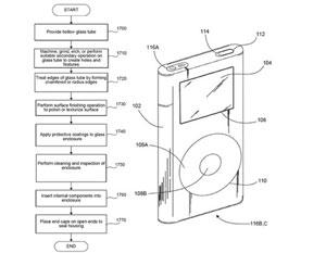 Patente da Apple sugere um iPhone feito totalmente de vidro (Foto: Divulgação)