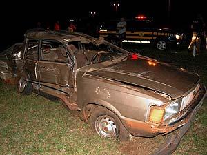 Quatro passageiros do Del Rey morreram (Foto: Delcione Bento)