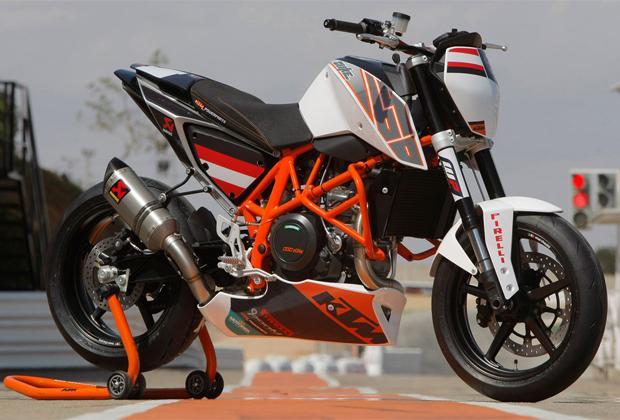 """KTM 690 Duke """"Track"""" terá apenas 200 unidades (Foto: Divulgação)"""
